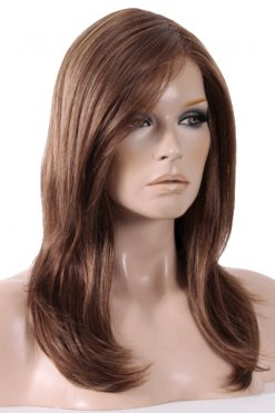 Mega Mono with Lace Front - Colour Hot Mocca Mix