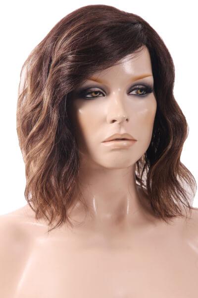 Evanna Lace Front Monopart Colour Marble Brown Lr